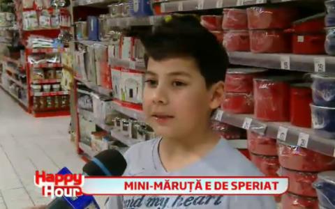 Farsa in supermarket cu mini-Maruta. Cum a reusit baietelul sa scoata din sarite o multime de clienti: VIDEO