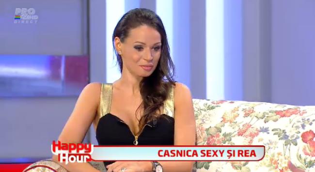"""Nicoleta, casnica sexy si rea, explica altercatia cu un concurent de la MasterChef: """"Eu nu am cum sa ma bat cu un barbat"""""""