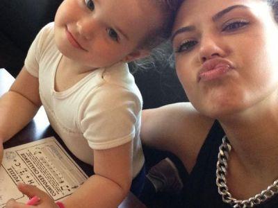 Antonia si fiica ei, intr-o fotografie de 60.000 de like