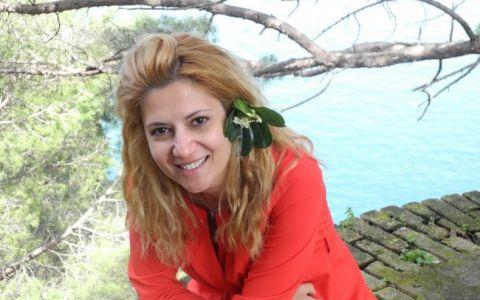 Amalia Enache, vacanta cu miros de iasomie si gust de inghetata de lamaie