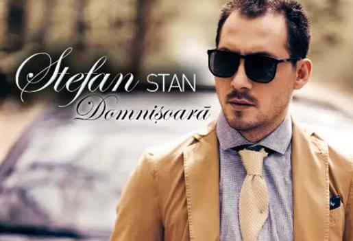 """Stefan Stan viseaza la o """"domnisoara cu pielea de catifea"""". Artistul si-a lansat noul album"""