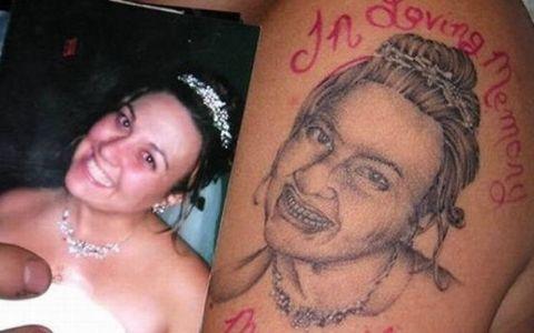A fost supranumit  cel mai urat tatuaj din toata lumea , pana cand un adevarat artist s-a ocupat de el. Cum arata acum desenul