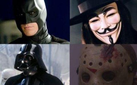 Cele mai fascinante 50 de masti din filme: de la Darth Vader la Batman