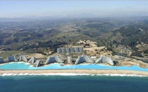 Cum arata cea mai mare piscina din lume, de 250.000.000 de litri. Imagini spectaculoase