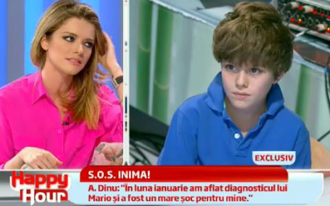 Alexandra Dinu:  Baietelul meu avea o gaura de 3 cm in inima . Dezvaluiri impresionante la  Happy Hour