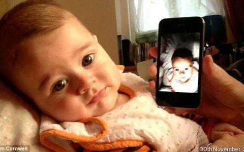 Tatal lui l-a filmat o secunda in fiecare zi. E uimitor cum se transforma acest bebelus, de la nastere pana la un an: VIDEO
