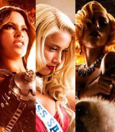 "Femeile lui Machete: Lady Gaga, Amber Heard si Sofia Vergara sunt mortale in noul trailer pentru ""Machete Kills"", Mel Gibson vrea sa distruga lumea"