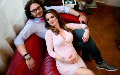 Prima imagine cu fetita lui Florin Dumitrescu. Juratul de la  MasterChef  se topeste de tot in fata fiicei sale