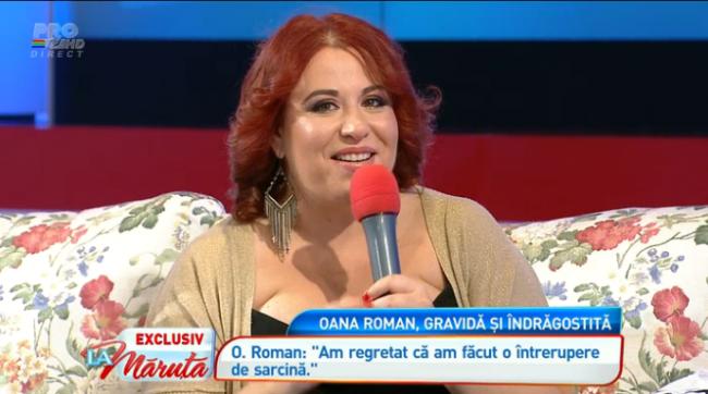 "Si-a anuntat sarcina in exclusivitate ""La Maruta"". Oana Roman va deveni mamica pentru prima data"