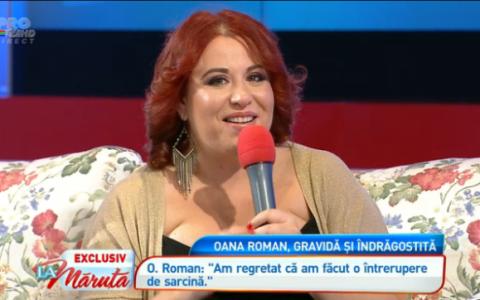 Si-a anuntat sarcina in exclusivitate  La Maruta . Oana Roman va deveni mamica pentru prima data