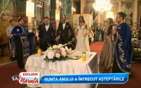 Nunta anului: Bianca si Victor Slav au devenit sot si sotie. Imagini de la ceremonie, difuzate in exclusivitate  La Maruta
