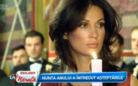 Nicoleta Luciu a crezut ca si-a acoperit bustul, dar nu a fost deloc asa. Cat de mult s-a vazut la nunta Biancai si a lui Victor Slav