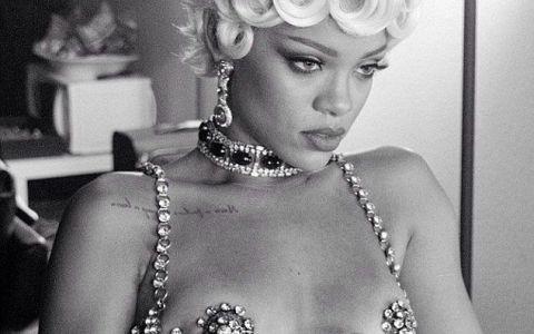 Rihanna a filmat cel mai indecent clip din cariera ei. Si-a etalat nurii in tinute demne de filme pentru adulti - FOTO