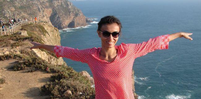 Carmen Safta a petrecut la Lisabona o vacanta autentic portugheza