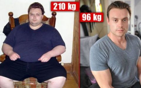A slabit jumatate din greutatea sa si a devenit antrenor si fitness si idol al femeilor. O transformare fabuloasa