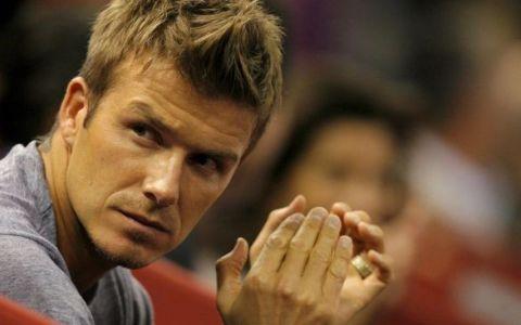 David Beckham, implicat intr-un accident de masina, alaturi de fiul sau, Brooklyn