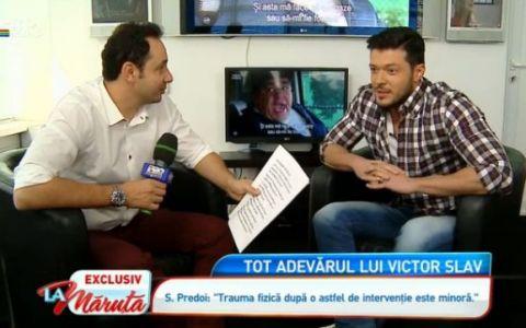 Interviu EXCLUSIV  La Maruta : Victor Slav face primele declaratii dupa ce Bianca a facut o intrerupere de sarcina