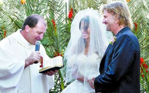 Iti mai amintesti telenovela  Inger salbatic  in care Ivo se casatorea cu Mili? Uite cu cine s-a insurat in realitate Facundo Arana