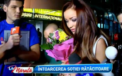 Bianca Slav, doua surprize la intoarcerea din Dubai. Cum a reactionat cand si-a vazut sotul dupa o saptamana