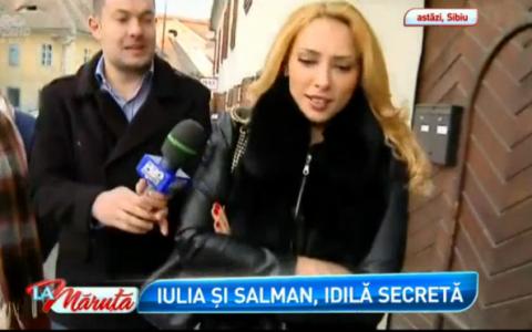 Primele declaratii ale Iuliei Vantur despre Salman Khan, dupa ce a recunoscut ca actorul a fost acasa la ea