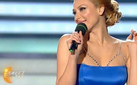 Iulia Vantur a renuntat la rochiile negre. Cu ce tinuta electrizanta a aparut in marea finala de la  Dansez pentru tine