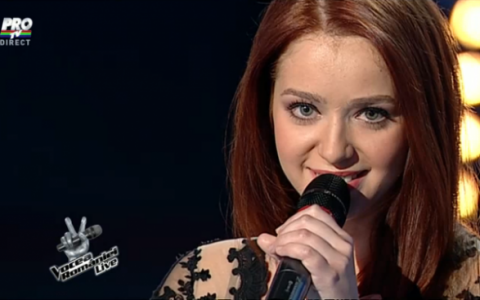 Ea ar putea fi Vocea Romaniei . Felul in care a cantat o piesa a Madalinei Manole le-a dat tuturor fiori: VIDEO