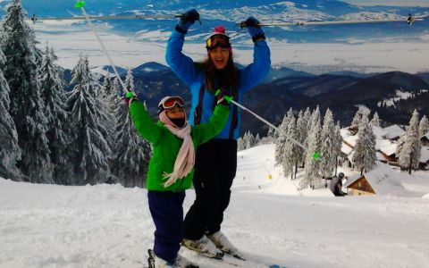 Anca Nastasi:  Cand aveam 5 ani, Mos Craciun mi-a adus primul echipament de schi