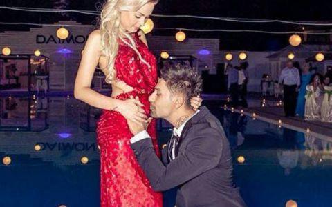 Connect-R, mai fericit ca niciodata ca va avea o fetita. Cum arata sotia lui, Misha, insarcinata in 7 luni
