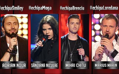 Patru voci superbe, un singur CASTIGATOR. Mihai Chitu este  Vocea Romaniei  in 2013!