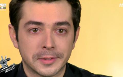 Marius Moga, in lacrimi la  Vocea Romaniei ! Nu l-ai mai vazut niciodata in starea asta: ce s-a intamplat
