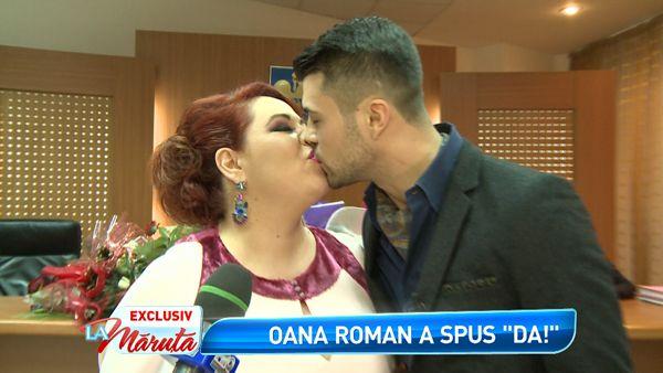 Oana Roman s-a casatorit cu iubitul ei, Marius. Imagini in exclusivitate de la cununia civila