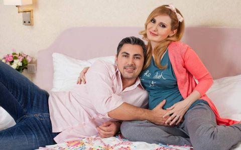 Ce cadou excentric i-a facut designerul Alexandru Ciucu fetitei lui, la cateva zile de la nastere
