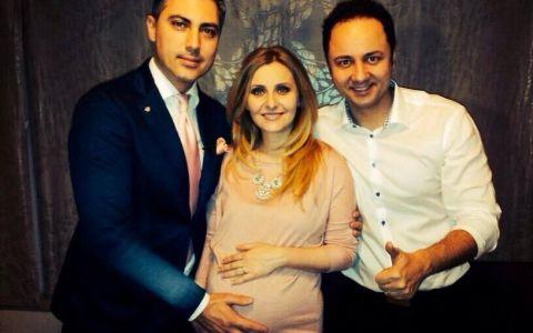 Alina Sorescu si fiica sa, Elena Carolina, prima poza  ca fetele