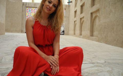 Amalia Enache:  Cel mai mult in Dubai mi-a placut India!