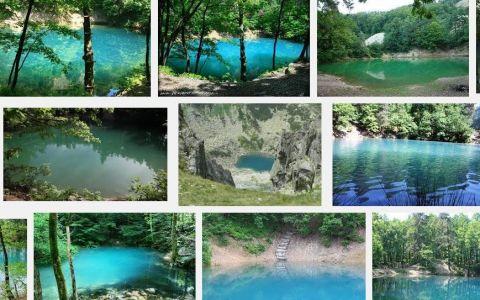 Acesta este singurul lac din lume care isi schimba culoarea. Si se afla in Romania