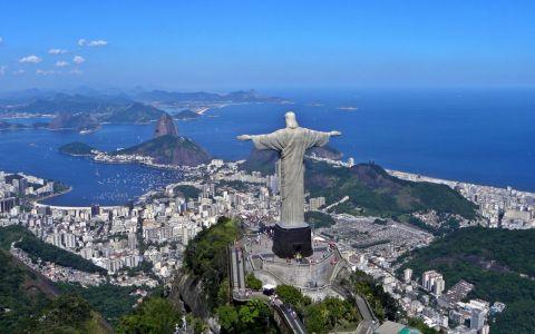 Chipul celebrei statui a lui Iisus din Rio de Janeiro, sculptata de un roman