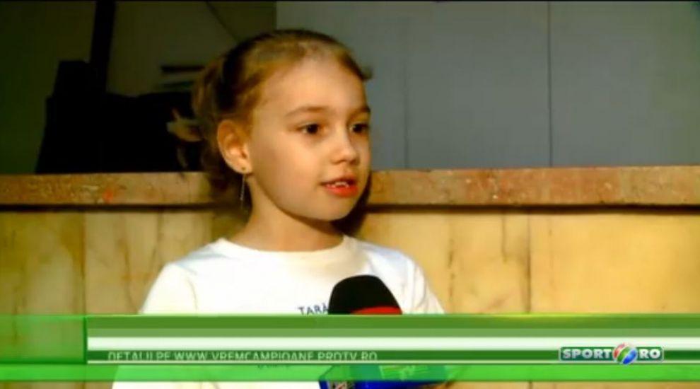 Tara, tara, vrem campioane! Simona Amanar si Andreea Raducan cauta noi talente la Onesti, in orasul Nadiei Comaneci