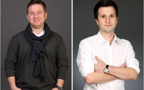 Pavel Bartos si Andi Moisescu au urmarit cu sufletul la gura finala Champions League. Cum au fost surprinsi cei doi