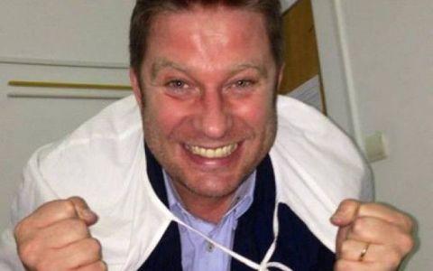 Primele imagini cu fetita nou-nascuta a lui Pavel Bartos. Smiley i-a fost nas, iar imaginea in care o tine in brate a strans peste 100.000 de like-uri