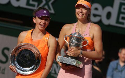 WTA a desemnat-o pe Maria Sharapova jucatoarea lunii mai. Simona Halep este pe primul loc in preferintele fanilor