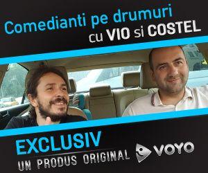 Vio si Costel revin pe Voyo cu un concept nou - comedie in masina