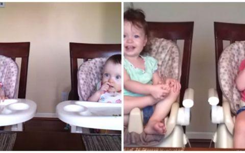 Un videoclip de 21.000.000 de afisari. Cum reactioneaza aceste fetite cand tatal incepe sa cante si cum se manifesta peste un an