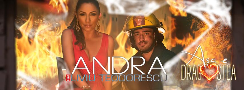 "Andra si Liviu Teodorescu au dat lovitura cu piesa ""Asa e dragostea"". Melodia are deja peste 2 milioane de afisari pe YouTube"