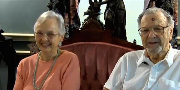 Aniversau 61 de ani de casatorie, iar el i-a facut cea mai frumoasa declaratie de dragoste. Ce i-a scris te va emotiona pana la lacrimi