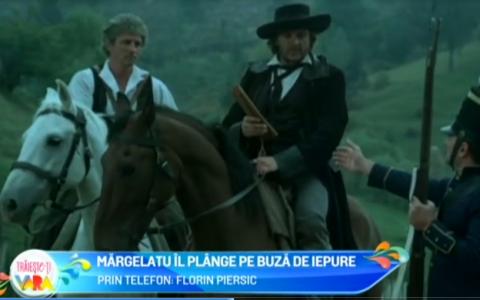 Florin Piersic il plange pe Szobi Cseh, prietenul sau de-o viata