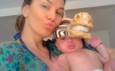 Anna Lesko, prima poza in costum de baie dupa ce a nascut. Cum arata cu adevarat trupul ei de cand a devenit mamica