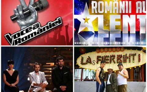 Cand incep Las Fierbinti, Vocea Romaniei si Romanii au Talent. ProTV anunta si un nou show in premiera in Romania