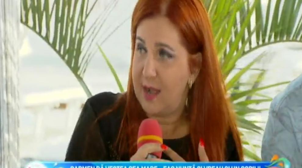 """Carmen Serban da vestea cea mare:""""Ma marit si vreau un copil"""""""