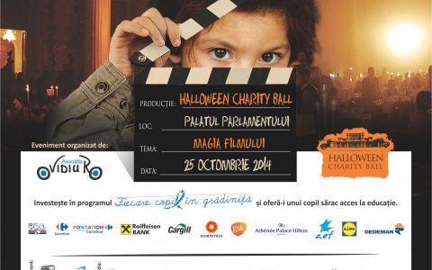 Amalia Enache si Dragos Bucurenci prezinta pentru prima data un eveniment impreuna:  Halloween Charity Ball , la Palatul Parlamentului