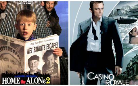 In weekend cele mai bune filme sunt la ProTV! Astazi, de la 20:30,  Singur acasa 2 , iar maine, de la 20:30,  Casino Royale
